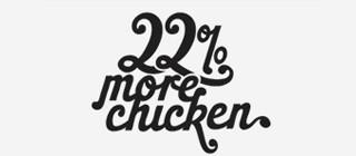 22percentmorechicken
